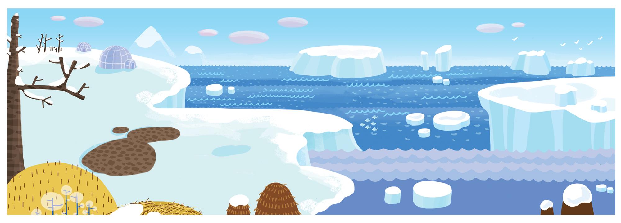 Холодные страны картинки для детей